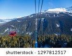 whistler  bc  canada   jan 14 ... | Shutterstock . vector #1297812517