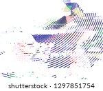abstract vector background dot...   Shutterstock .eps vector #1297851754