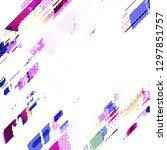 abstract vector background dot...   Shutterstock .eps vector #1297851757