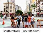 sao paulo  sp   brazil   01 25... | Shutterstock . vector #1297856824