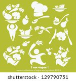 vector collection of healthy... | Shutterstock .eps vector #129790751