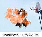 basketball player. basketball... | Shutterstock . vector #1297964224
