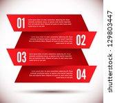 banner design template | Shutterstock .eps vector #129803447