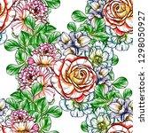 abstract elegance seamless... | Shutterstock . vector #1298050927
