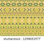 navajo american indian pattern... | Shutterstock .eps vector #1298051977