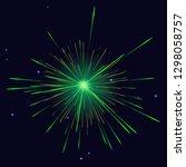 celebration vibrant sparkling... | Shutterstock . vector #1298058757