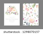 greeting card and background...   Shutterstock .eps vector #1298070157
