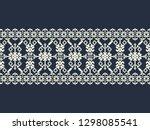 seamless vector vintage...   Shutterstock .eps vector #1298085541