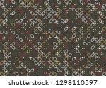 seamless geometric pattern... | Shutterstock .eps vector #1298110597