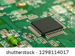 single chip controller on...   Shutterstock . vector #1298114017
