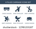 carriage icons. trendy 6... | Shutterstock .eps vector #1298133187