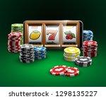 big win illustration online...   Shutterstock .eps vector #1298135227