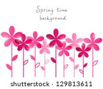 Springtime Background With...