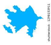 map of azerbaijan | Shutterstock .eps vector #1298153911