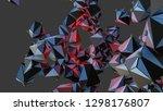 big data abstract background....   Shutterstock . vector #1298176807