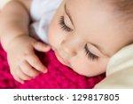 Closeup Portrait Of Sleeping...