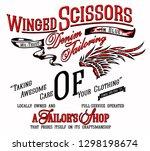 slogan print for t shirt... | Shutterstock .eps vector #1298198674