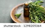 Rosemary Essential Oil Bottle...
