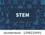 science  technology ...   Shutterstock .eps vector #1298210491
