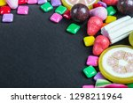 chewing gum  candy  chewing... | Shutterstock . vector #1298211964