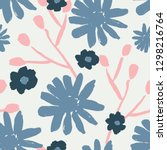seamless repeating pattern with ... | Shutterstock .eps vector #1298216764