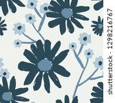 seamless repeating pattern with ... | Shutterstock .eps vector #1298216767