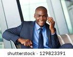 african business traveller... | Shutterstock . vector #129823391
