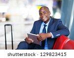 african business traveller... | Shutterstock . vector #129823415