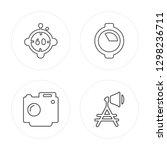 4 line minute countdown ... | Shutterstock .eps vector #1298236711