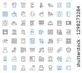 appliance icons set. collection ... | Shutterstock .eps vector #1298273284