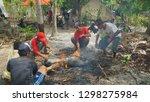 nusa penida  balu  june 08 2018 ... | Shutterstock . vector #1298275984