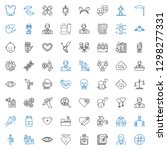 human icons set. collection of... | Shutterstock .eps vector #1298277331
