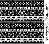 ancient maya tribal ethnic... | Shutterstock .eps vector #1298281894