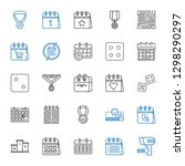 number icons set. collection of ...