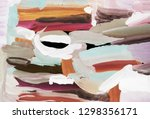 bright multi colored painting ...   Shutterstock . vector #1298356171