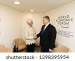 davos  switzerland   jan 23 ... | Shutterstock . vector #1298395954