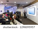 davos  switzerland   jan 24 ... | Shutterstock . vector #1298395957