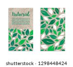 vegetable flyers with salad... | Shutterstock .eps vector #1298448424