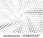 abstract halftone gradient dots ... | Shutterstock .eps vector #1298453437