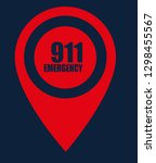 number emergency 911 and map...