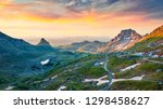 incredible summer view from... | Shutterstock . vector #1298458627