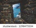italy  portovenere  the old... | Shutterstock . vector #1298475334