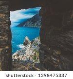 italy  portovenere  the old... | Shutterstock . vector #1298475337