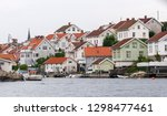 swedish fishing village of... | Shutterstock . vector #1298477461