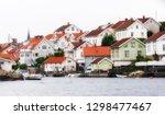 swedish fishing village of... | Shutterstock . vector #1298477467
