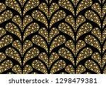 flower geometric pattern....   Shutterstock . vector #1298479381