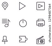 ui  user interface lineal icon...