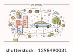 banner template with hand... | Shutterstock .eps vector #1298490031