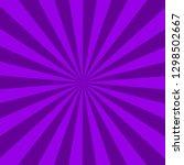 purple sunburst abstract... | Shutterstock . vector #1298502667