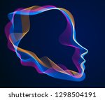 spirit of digital electronic... | Shutterstock .eps vector #1298504191